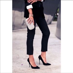 J. Crew   Black Campbell Cropped Pants